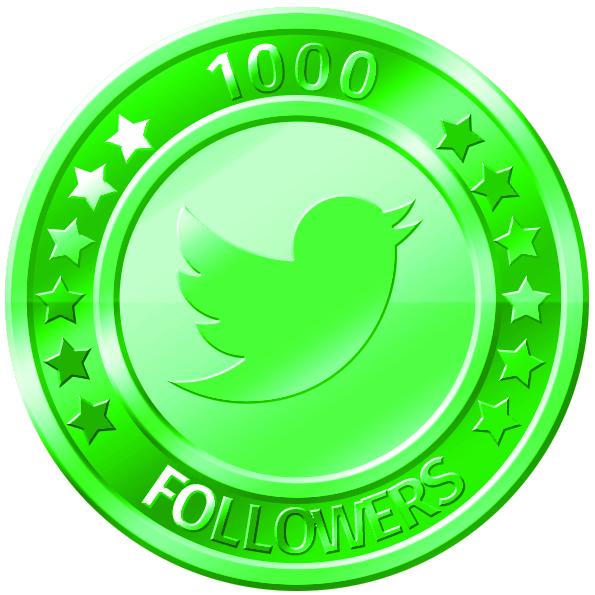 get 1000 twitter followers