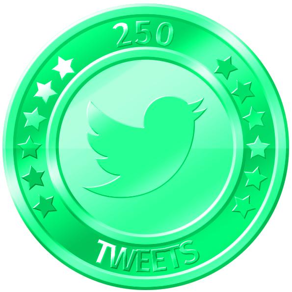 get 250 twitter tweets