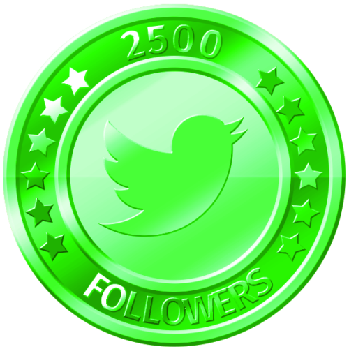 get 2500 twitter followers