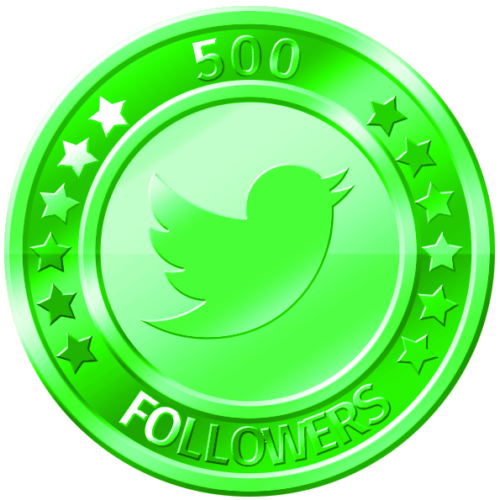 get 500 twitter followers