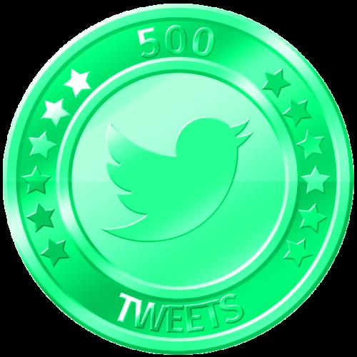 get 500 twitter tweets