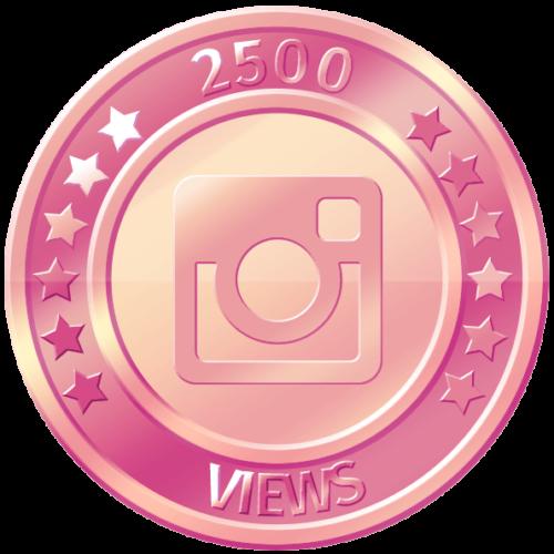 get 2500 instagram views
