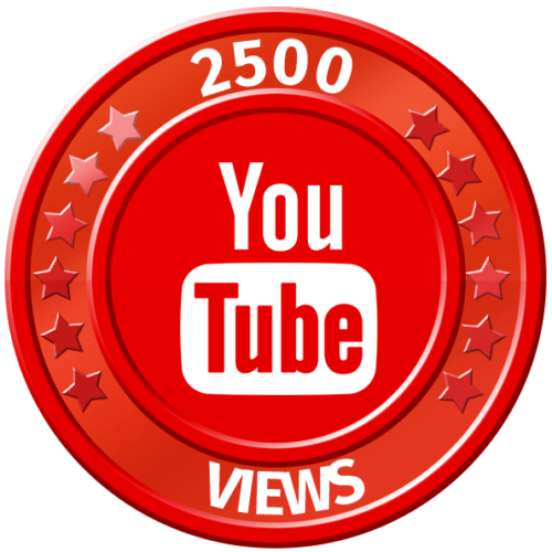 get 2500 youtube views
